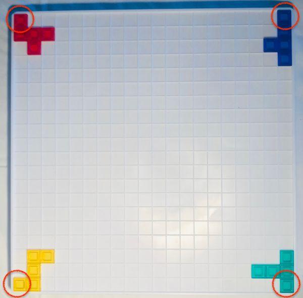 (圖一)玩家們須從各角落出發